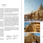 Detailed section on the Shwezigon Pagoda