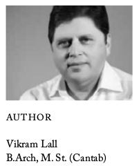 Author photo, Vikram Lall