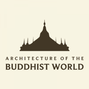 Architecture of Buddhism tan social media logo