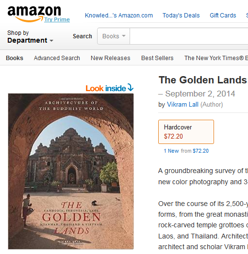 The Golden Lands is available from all good bookshops and direct from the publisher... and also from Amazon