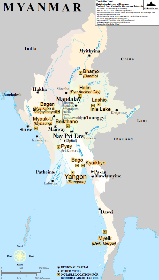 Maps For The Golden Lands Architecture Of Buddhism And Historical - Burma map hd pdf