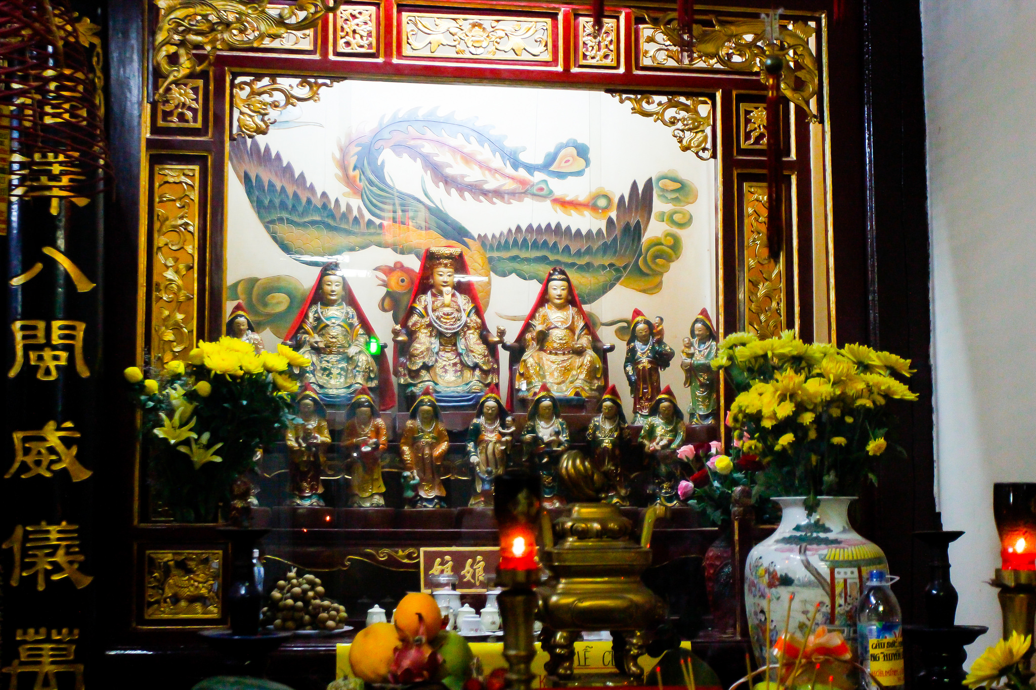 Guanyin altar at Phuoc Kien Assembly Hall, Vietnam