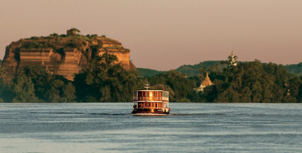 Many of the most famous sites to visit in Myanmar are directly accessible from river landings or nearby